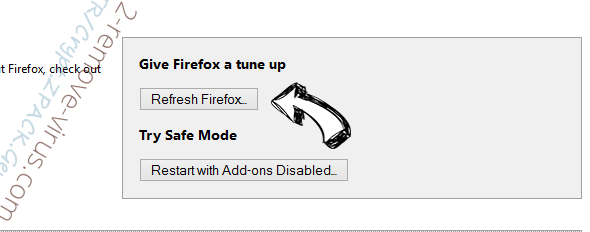 Accoona Search Firefox reset