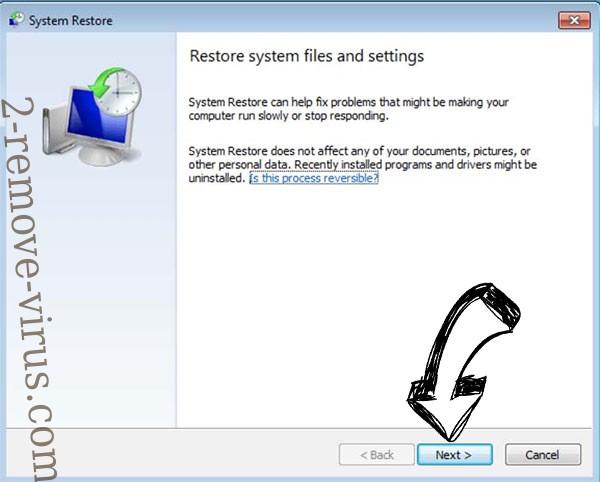 Get rid of .Cerber - restore init
