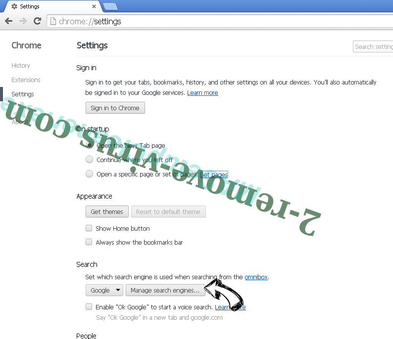 Newnext.me nengine.dll Chrome extensions disable