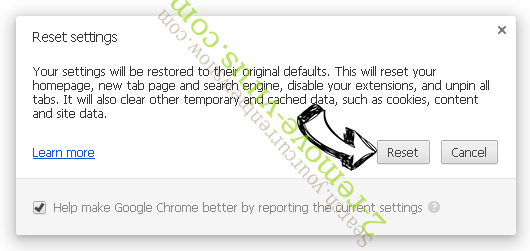 Search.myclassifiedsxp.com Chrome reset