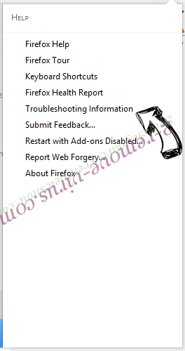 Eliminar Letssearch.com Firefox troubleshooting