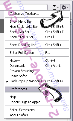 Gaming Wonderland Toolbar Safari menu