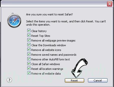 Search.easyclassifiedsaccess.com Safari reset