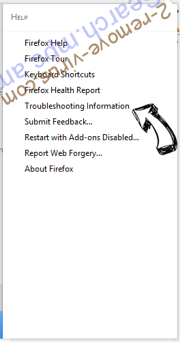 Search.mpc.am Firefox troubleshooting