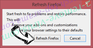 Search.top-arama.com Firefox reset confirm