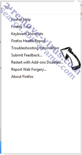 Search.top-arama.com Firefox troubleshooting