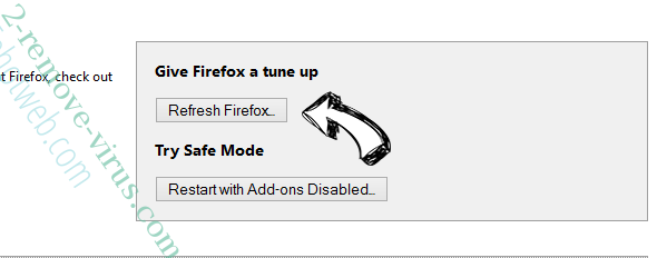 FreeShoppingTool Virus Firefox reset