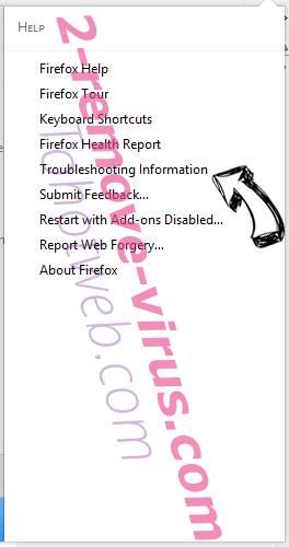 Search.so-v.com Firefox troubleshooting