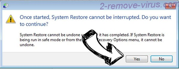 Rapid RaaS removal - restore message