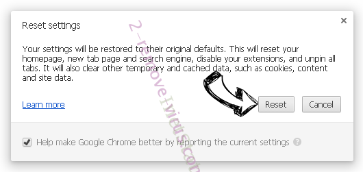 TechAgent Chrome reset