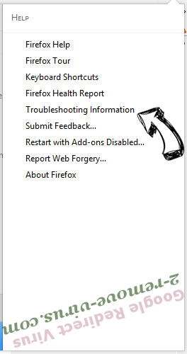 Google Redirect Virus Firefox troubleshooting