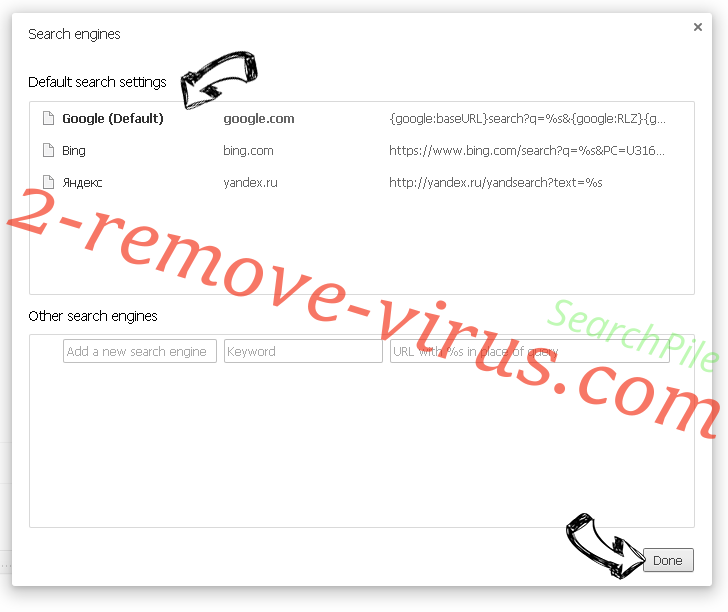 Search Manager virus Chrome extensions disable