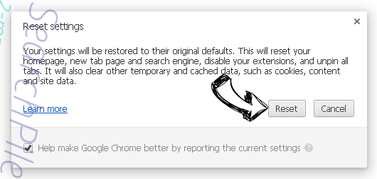 Luckypage123.com Chrome reset