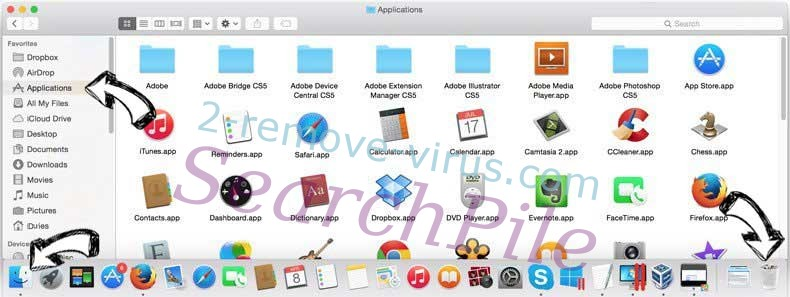 Search Manager virus removal from MAC OS X