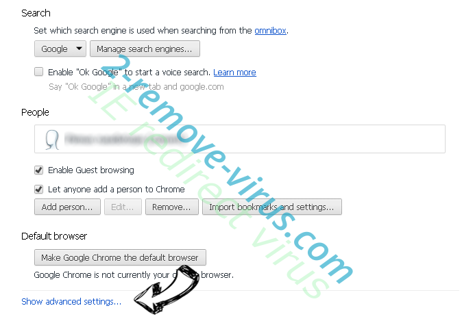 Cpamatik.com Chrome settings more