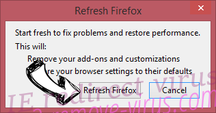 IE redirect virus Firefox reset confirm