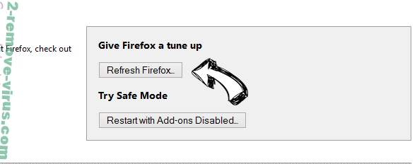 eFast Browser Ads Firefox reset