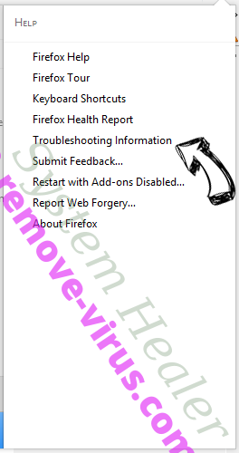 TROTUX virus Firefox troubleshooting
