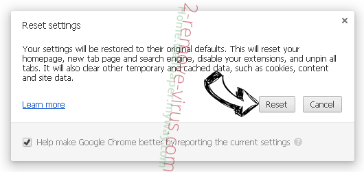 Genieo Search Chrome reset