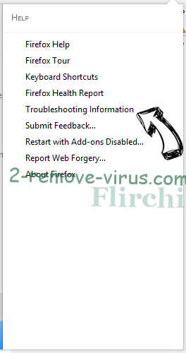 Search.bagonrock.com Firefox troubleshooting