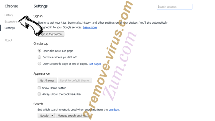 WinZip Driver Updater Virus Chrome settings