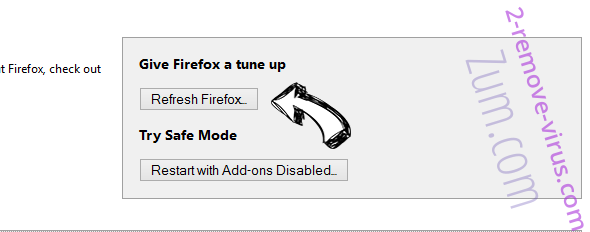 Suppression de Search.linkmyc.com Firefox reset