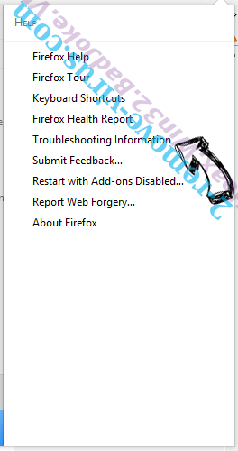 Hoax.Win32.BadJoke.VB Firefox troubleshooting