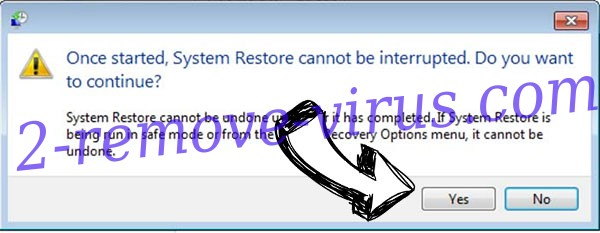 EnybenyCrypt ransomware removal - restore message