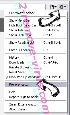 Ucarecdn Safari menu