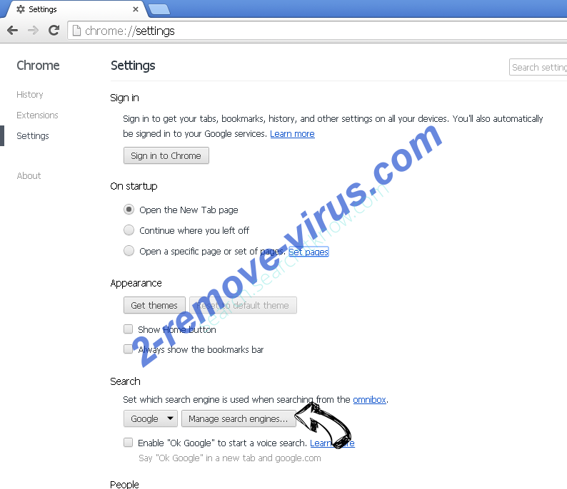 UC Browser Chrome extensions disable
