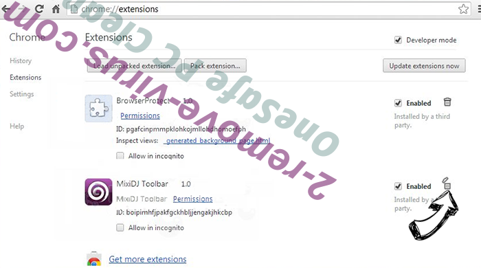 Error #0x0072ee7 Chrome extensions remove