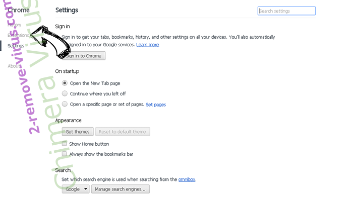 ChromeWebStore extension Chrome settings