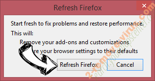 Online Browser Advertising Firefox reset confirm