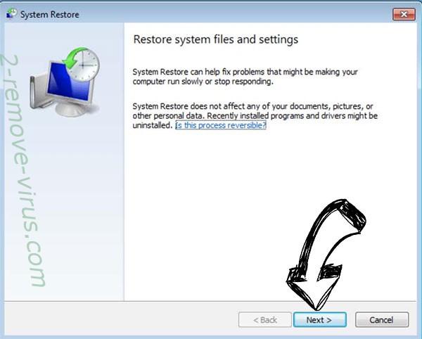 Get rid of .enc virus - restore init