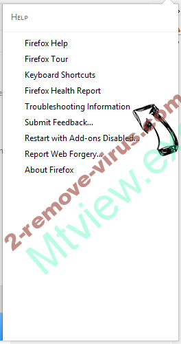 Palikan Virus Firefox troubleshooting
