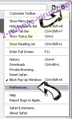Palikan Virus Safari menu
