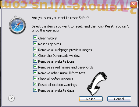 Palikan Virus Safari reset