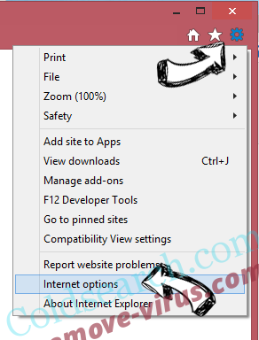 Concom.exe IE options
