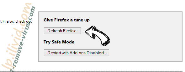 Search.goldraiven.com Firefox reset
