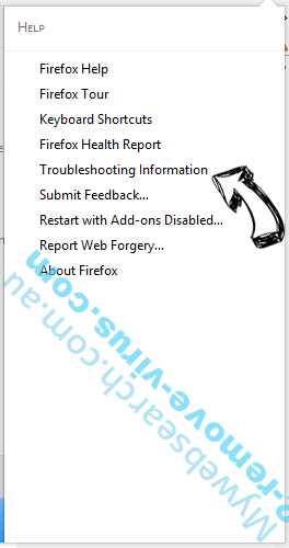 Search-Goal.com Firefox troubleshooting