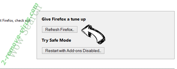 Pay-By-Ads Firefox reset