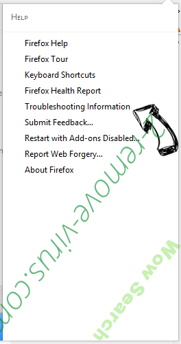 Search.golliver.com Firefox troubleshooting