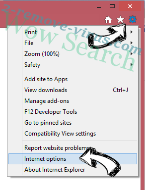 Wow Search IE options