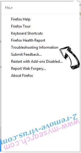 Rimuovere www-mysearch.com Firefox troubleshooting