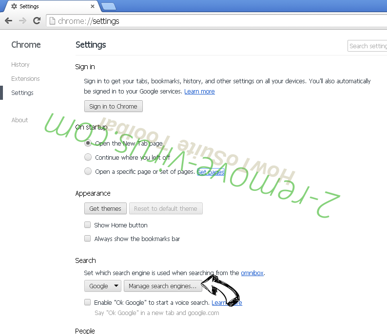 HowToSuite Toolbar Chrome extensions disable