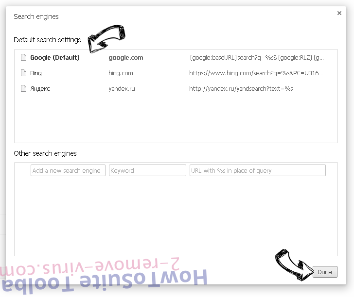 Rimuovere Baidu Toolbar Chrome extensions disable