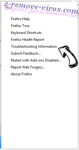 Supprimer Shopperz Firefox troubleshooting