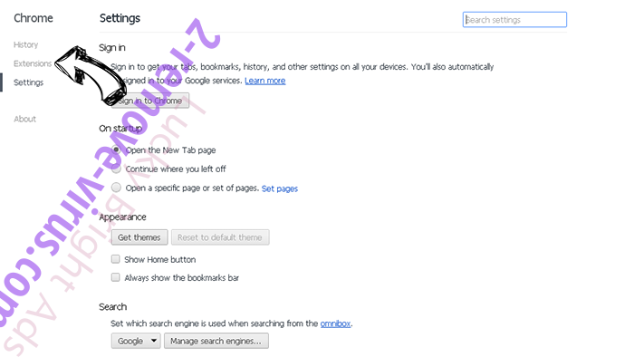 IncrediMail Chrome settings