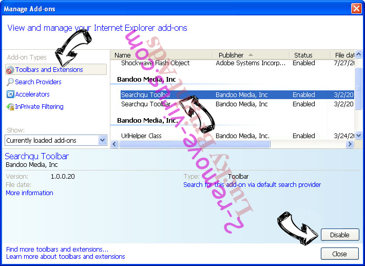 MP3 Search Engine IE toolbars and extensions