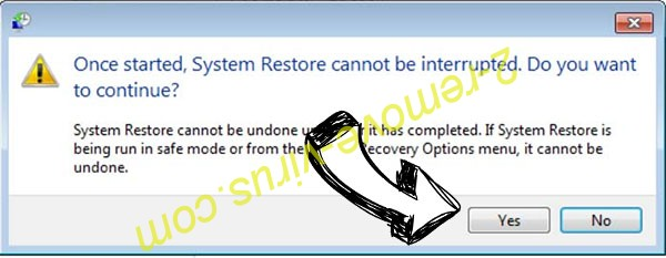 PremierOpinion virus removal - restore message
